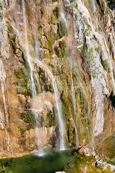 Büyük çağlayan park su manzara Stok fotoğraf © tomasz_parys