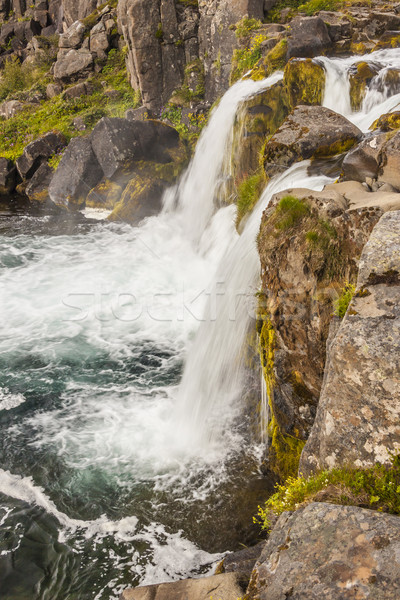 Rapid river - Westfjords, Iceland. Stock photo © tomasz_parys