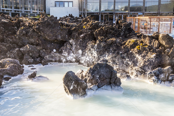 Spa in Blue Lagoon on  Iceland Stock photo © tomasz_parys