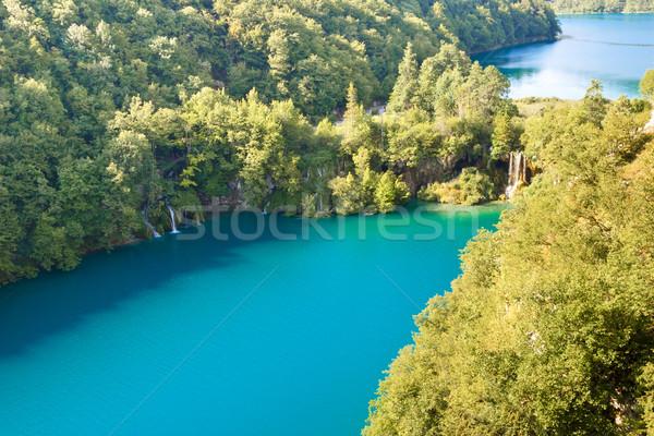 Deux grand parc Croatie eau Photo stock © tomasz_parys