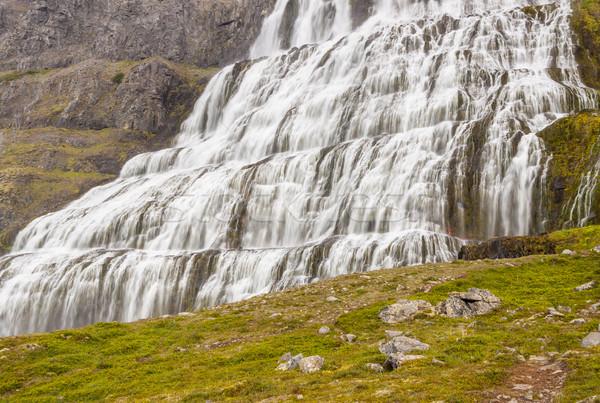 View on Dynjandi - Westfjords, Iceland. Stock photo © tomasz_parys