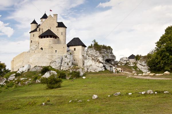 Stock photo: Bobolice, Poland - Silesia Region.
