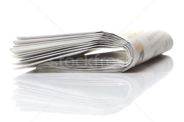 Stock photo: newspaper