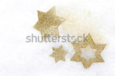christmas ornament gold Stock photo © Tomjac1980