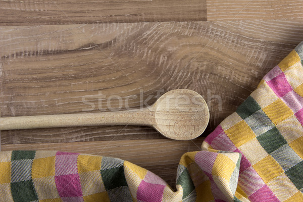 wooden spoon Stock photo © Tomjac1980