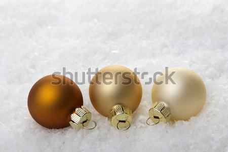 christmas decoration brown Stock photo © Tomjac1980