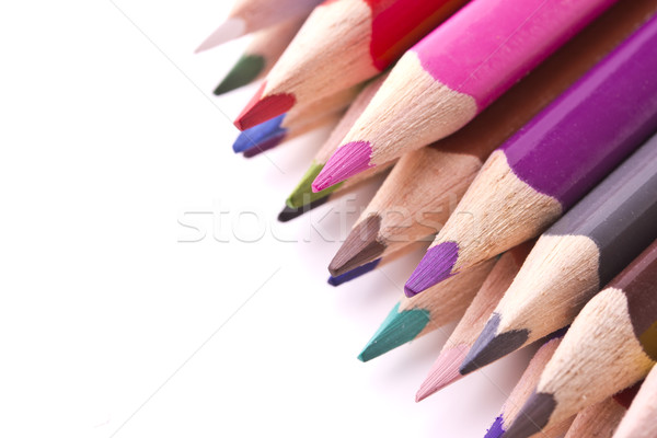 鉛筆 孤立した 白 ペン 塗料 ストックフォト © Tomjac1980