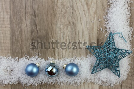 christmas decoration turquoise Stock photo © Tomjac1980