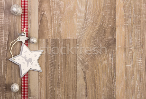 christmas decoration white and red Stock photo © Tomjac1980