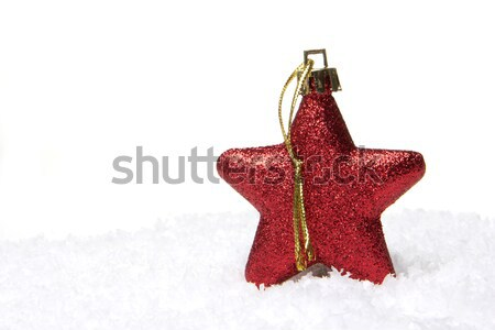 christmas decoration red Stock photo © Tomjac1980