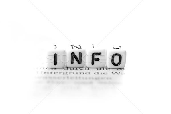 info Stock photo © Tomjac1980