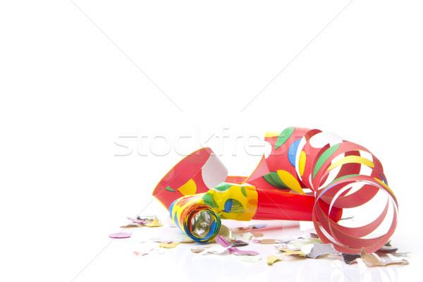 Parti dekorasyon konfeti partiler dizayn doğum günü Stok fotoğraf © Tomjac1980