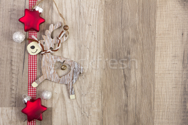 elk as christmas decoration Stock photo © Tomjac1980