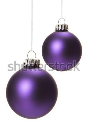 christmas ornament violet Stock photo © Tomjac1980