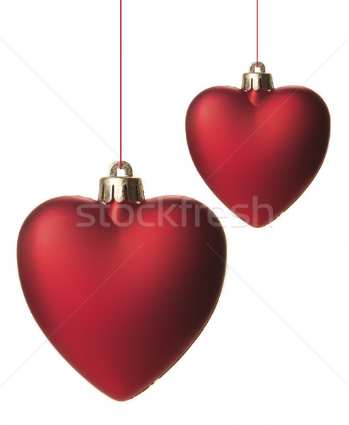 christmas, christmas ornament red Stock photo © Tomjac1980