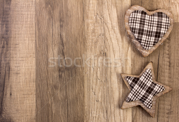 decoration with heart and star shape Stock photo © Tomjac1980