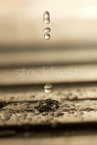 water, water drops Stock photo © Tomjac1980