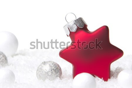 christmas decoration red Stock photo © Tomjac1980