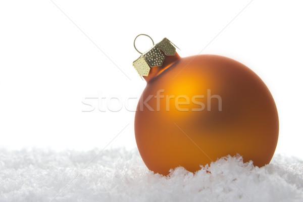 christmas decoration orange Stock photo © Tomjac1980