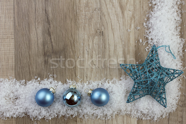 christmas ornament turquoise Stock photo © Tomjac1980