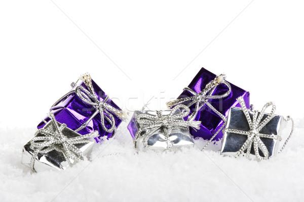 christmas gifts Stock photo © Tomjac1980