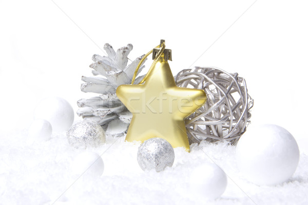 christmas ornament gold Stock photo © Tomjac1980