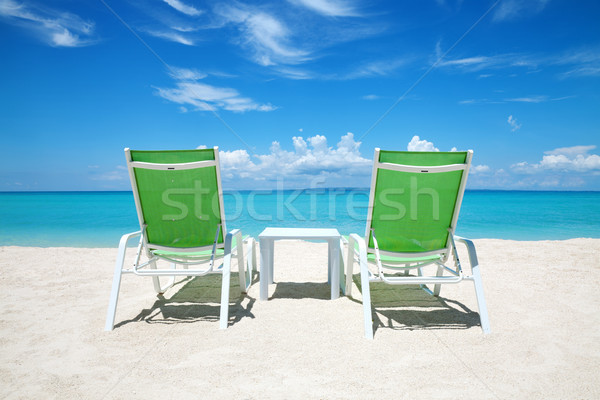 Take a break on paradise beach Stock photo © tommyandone