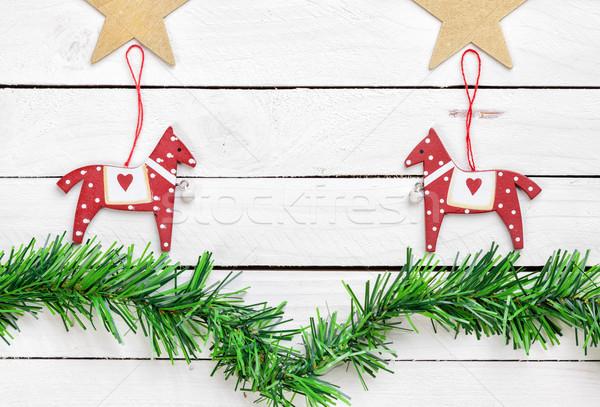 Creative christmas decoration  Stock photo © tommyandone