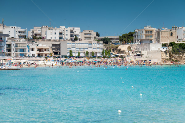 Otranto town in Puglia Italy Stock photo © tommyandone