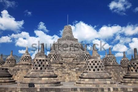 Borobudur Temple Indonesia Stock photo © tommyandone