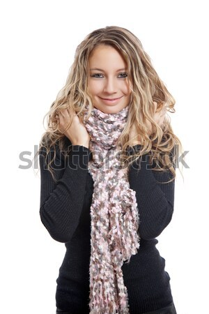 Keep warm for the cold days Stock photo © tommyandone