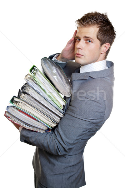 Heavy workload Stock photo © tommyandone