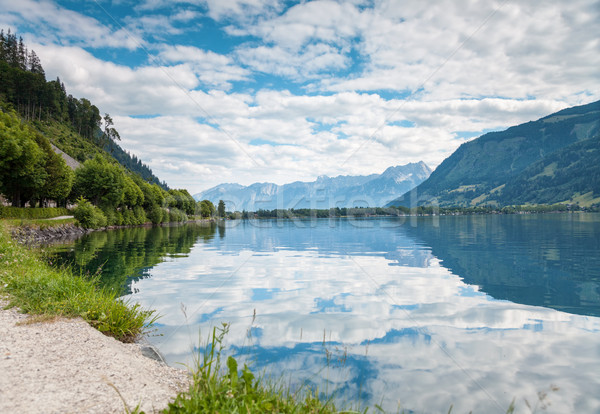 Zell Am See lake in Austria Stock photo © tommyandone