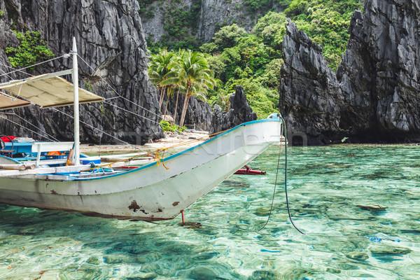 Stock photo: Beautiful tropical scenery in El Nido, Palawan, Philippines