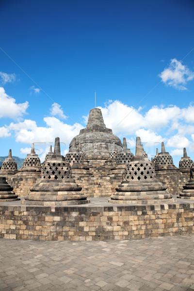 Borobudur temple, Indonesia Stock photo © tommyandone