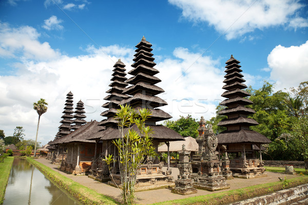 Royal Taman Ayun temple in Bali Stock photo © tommyandone