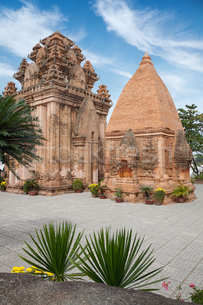 Po Ngar Cham Towers in Nha Trang Stock photo © tommyandone