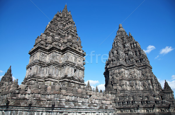Prambanan hindu temple Stock photo © tommyandone