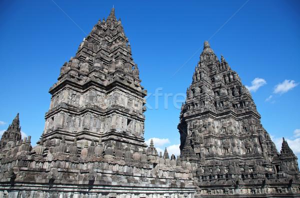Tempio viaggio pietra culto Asia foto Foto d'archivio © tommyandone
