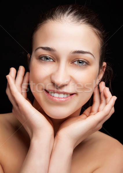 Perfect skin complexion Stock photo © tommyandone