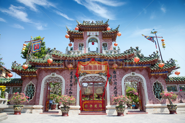 Cantonese assembly hall Hoi An Stock photo © tommyandone