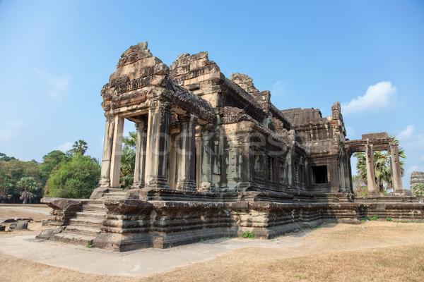 Foto stock: Antigo · templo · angkor · Camboja · tradicional · árvore