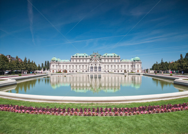 Belvedere castle in Vienna Stock photo © tommyandone