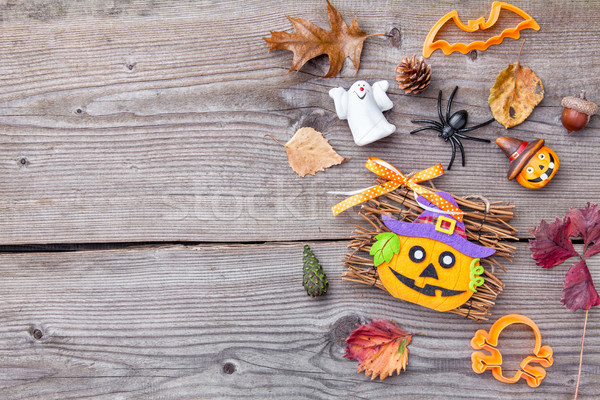 Tradicional miedo halloween vacaciones fuego Foto stock © tommyandone