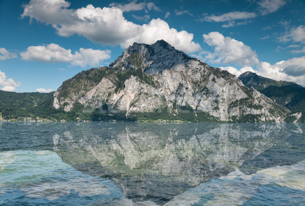 Traunsee lake in Austria Stock photo © tommyandone