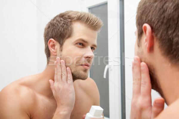 Morning hygiene Stock photo © tommyandone