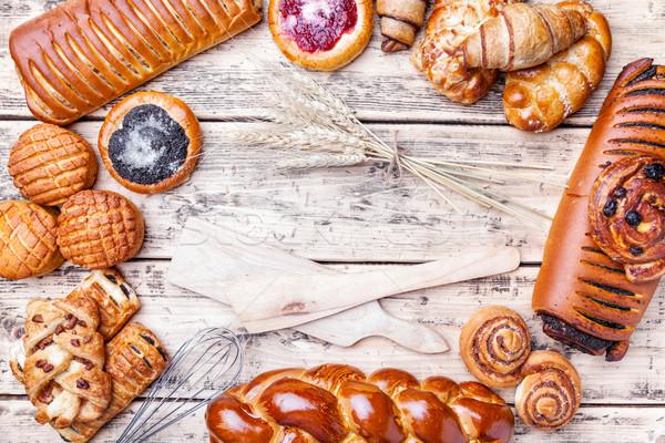 甘い 季節の ペストリー 新鮮な 健康 ストックフォト © tommyandone