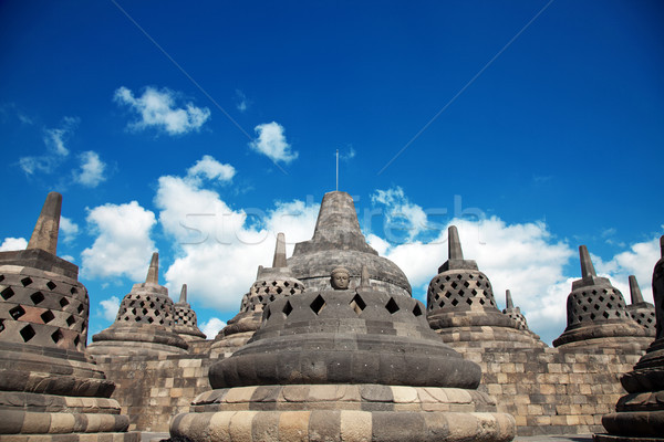 храма Индонезия тесные Ява небе искусства Сток-фото © tommyandone