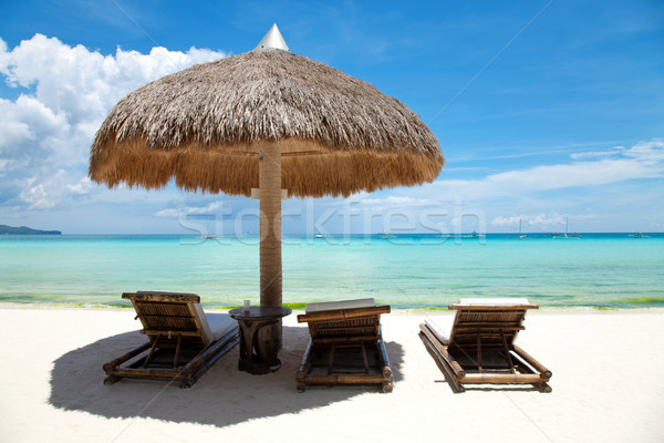 Relax on the beach Stock photo © tommyandone