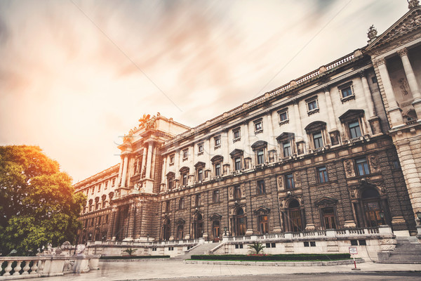 известный дворец Вена Австрия путешествия замок Сток-фото © tommyandone